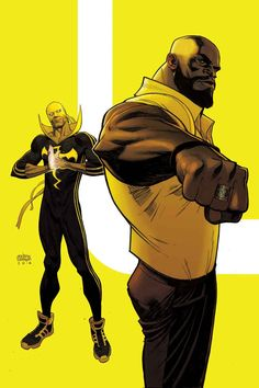 Power Man and Iron Fist by Andrew Robinson