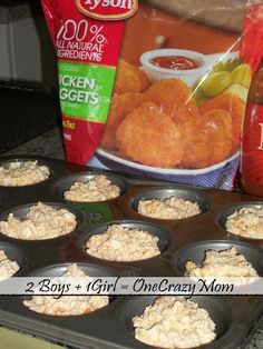 Buffalo Chicken Cups perfect finger food