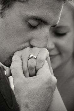 Engagement Ring shot! Casey Myers I LOVE THIS!