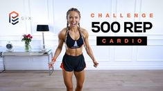 500 Rep Cardio Challenge - Full Bodyweight Workout | Pure Endure Day 6 - YouTube Cardio Challenge, Body Weight, Exercises, Workouts, Challenges, Pure Products, Bra, Beast Mode, Youtube