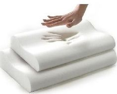 Almohada De Memory Foam Viscoelastica Ortopedica Cervical - $ 349.00