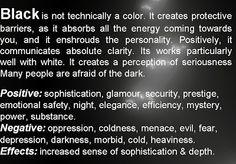 46 Best Quotes About The Color Black Images Black Black Colors