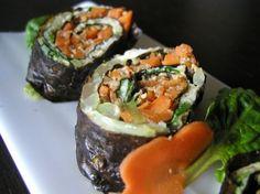 Egg & vegetable roll Recipe