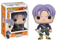 Funko releasing Trunks pop vinyl figure from Dragon Ball Z