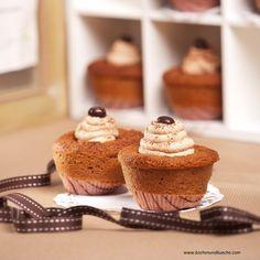 Cupcakes mit Mokkacreme Creme, Cupcakes, Jar, Breakfast, Desserts, Food, Decor, Coffee Beans, Chocolates