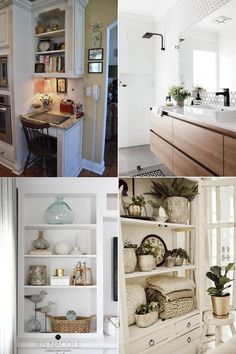 Whether you are trying to squeeze in a small desk or a fully loaded workstation, these ideas will help you whip up a surprisingly stylish home office.