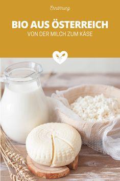 BIO aus Österreich – Von der Milch zum Käse | Koch mit Herz Bio Siegel, Lab, Food, Food Safety, No Sugar, Essen, Labs, Meals, Yemek
