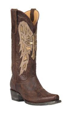 Old Gringo Yippee Ki Yay Women's Brass Joan of Arc Snip Toe Western Boots | Cavender's