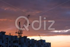 Qdiz Stock Photos | Silhouette of building crane,  #blueprint #building #buildingactivity #business #cockpit #construction #crane #design #development #engineering #equipment #estate #exterior #feature #growth #heavy #high #hoisting #house #housingproject #industry #iron #jib #job #machine #making #mass #metal #pilothouse #plan #reach #redevelop #remote #scaffolding #scene #Silhouette #sky #steel #stiff #structure #summer #tall #thin #tower #urban #vitality #weight #work #Working