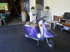 1968 Rabbit Superflow S601 Scooter for sale!  Nice.