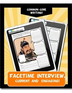 Catch the digital age wave! This assignment is current, engaging and fun. Students conduct a FaceTime interview with Qin Shi Huangdi, Confucius or Buddha on an IPAD template. Students first draw a picture of the leader and then a small picture of themselves.