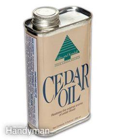 Chip Leedy on cedar oil to rid your yard of pesky ticks, fleas, and kill their eggs. Tick Spray, Flea Spray, Termite Control, Pest Control, Get Rid Of Ticks, House Insects, Cedar Oil, Citrus Oil, Insect Repellent