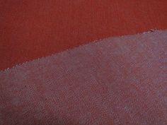 Denim stof koraal/oranje, ca 140cm breed. Ideaal voor kinderkleding, broeken of decoratie. Bestel eenvoudig online! - Bas Bastiaans