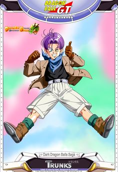 Dragon Ball GT - Trunks by *DBCProject on deviantART