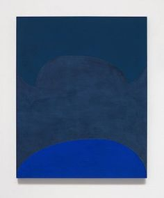 Suzan Frecon, lapis ordering adhacent blues (2014)