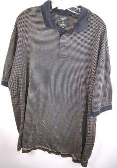 Details about Gary Player Men s 2XLT 2 Ply Double Mercerized Moisture  Wicking Golf Shirt 3a709d475