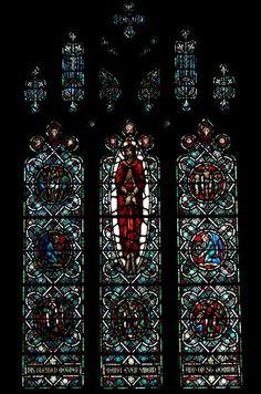 St. Dominics Catholic Church, chapel window