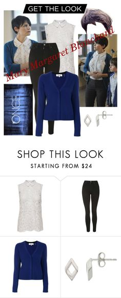 """""""Mary Margaret/snow white OUAT"""" by cassieq6929 ❤ liked on Polyvore featuring Once Upon a Time, JDY, Topshop, Diane Von Furstenberg and Nina B"""