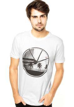 Camiseta Redley Off White