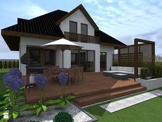 Taras styl Nowoczesny Taras - zdjęcie od ap. studio architektoniczne Aurelia Palczewska-Dreszler