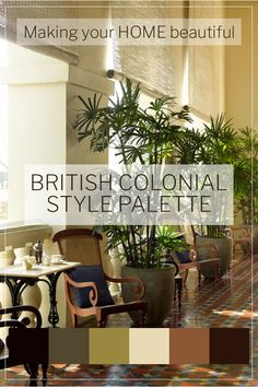 Part of the appeal of British Colonial Style is the rich colour palette offset with gorgeous greenery. I have 7 steps to achieve this fabulous classic style - find out more here. British Colonial Bedroom, Colonial Home Decor, British Colonial Style, West Indies Decor, West Indies Style, British West Indies, Tommy Bahama, Estilo Tropical, Decoration