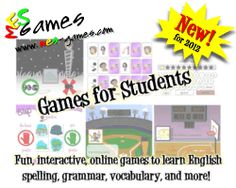 Games for teens and young learners