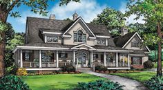 Donald A. Gardner Architects, Inc. The Cresthill House Plan DDWEBDDDG-1182