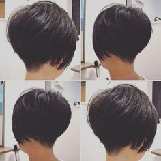 The Short Pixie Cut - 58 Great Haircuts You'll See for 2019 - Hairstyles Trends Short Hair Cuts For Women, Short Hair Styles, Bob Hairstyles For Thick, Modern Haircuts, Short Haircuts, Pixie Haircut, Great Hair, Hair Dos, Balayage Hair