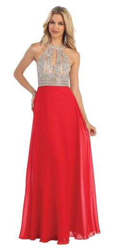 Long Formal Prom Dress Special Occassion Gown