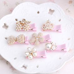 New Arrival Floral Rhinestone Kids Hair Accessories Bowknot Hair Clip Children Crown Accessories Baby Flower Cute HairpinsCheap baby hair clips, Buy Quality children hair accessories directly from China hair clip crown Suppliers: 2017 New Baby Hair C Baby Hair Clips, Baby Headbands, Flower Headbands, Flower Hair Clips, How To Wrap Flowers, Hair Bow Tutorial, Flower Tutorial, Baby Girl Hair, Baby Girls