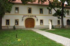 Matyó Múzeum - Matyó Museum - Mezőkövesd, Hungary - A matyó népviselet történetét és a hímzés fejlődését bemutató kiállítása 1953. július 26-án nyílt meg - The history of folk costumes and embroidery exhibition showing the development opened in 26th July 1953