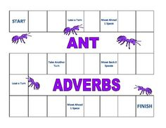 Ant Adverbs-- practice picking out adverbs in sentences