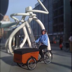 Perfect Sidewalk Citizen Bakery us Babboe Big delivery bike