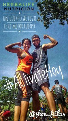 Activate hoy!! Un cuerpo activo es el mejor cuerpo!