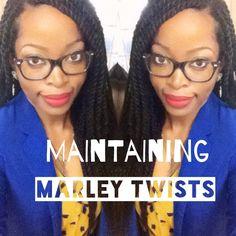 Maintaining Marley Havana Twists: Moisturizing while Protective Styling ...