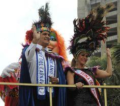 Eddy Herrera y Miriam Cruz.
