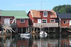 Koster, Sweden Lappland, Scandinavian Home, Places To See, Boats, To Go, Traveling, Earth, Cabin, Country