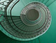 Emerald Spiral in Prague