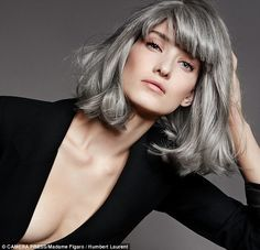 The usual estimate is that well over 70 per cent of grey-haired women in this country, are colourers (stock)