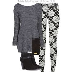 Teen Wolf - Malia Tate Inspired Birthday Outfit by staystronng on Polyvore featuring polyvore, fashion, style, Boohoo, 7 For All Mankind, Forever 21, Henri Bendel, birthday, tw and maliatate
