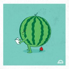 Where strawberries come from - Happy drawings :)