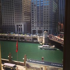 You can cruise the Chicago river anytime, but there's only one NeoCon! #neoconography #neocon13
