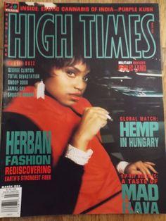 Vintage HIGH TIMES MAGAZINE March 1994 HERBAN FASHION ISSUE | eBay