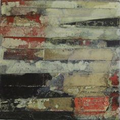 30 Red 3 by Sam Lock - Oils and Mixed Media on board