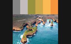 Paletas de cores baseadas em paisagens naturais inspiram decoração - Casa - GNT