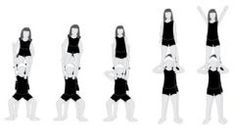 Step-By-Step Guide To Performing A Shoulder Stand Cheerleading Stunt