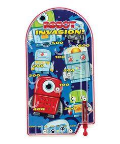 Another great find on #zulily! Robot Invasion Pinball #zulilyfinds