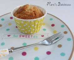 Banana Muffin Recipe I have constantly got over-ripe bananas in my house, that get chucked into the freezer for using on a later date. Muffin Recipes, Bananas, Pudding, Breakfast, Sweet, Desserts, Food, Morning Coffee, Essen