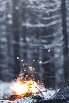 Image result for winter fire