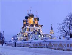 Tutaev churches, Russia